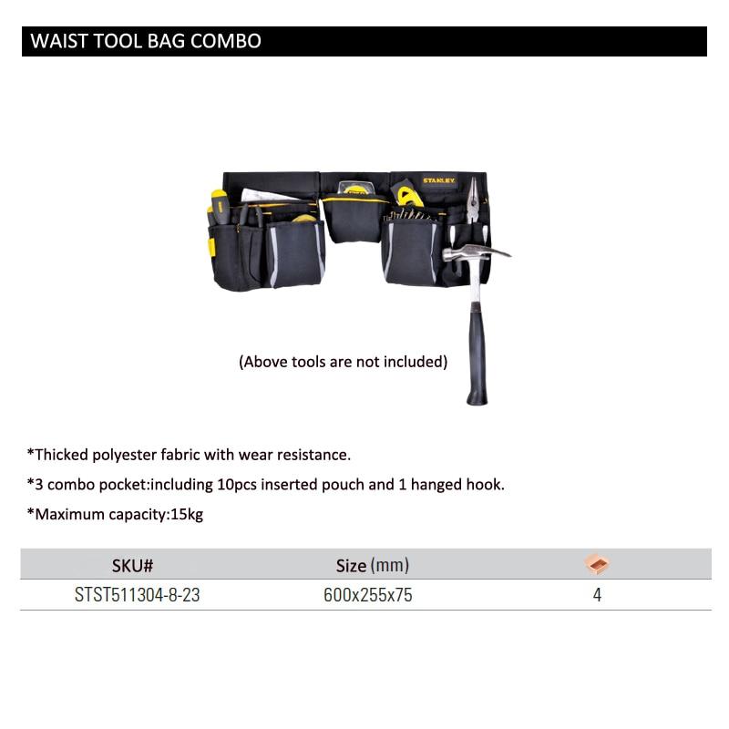 STST511304-8-23 waist tool bag size