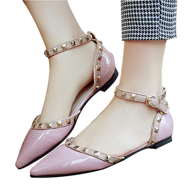 VTOTA Women Sandals Wedding Shoes Women Open Toes Sandalias Mujer Buckle Rivet Black White Women Sweet Summer Shoes G24