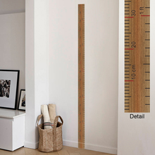 Ruler Height Measure Wall Stickers For Nursery Kids Rooms Decorations Home Decor Growth Chart Poster Mural Wall Art PVC Decals цена