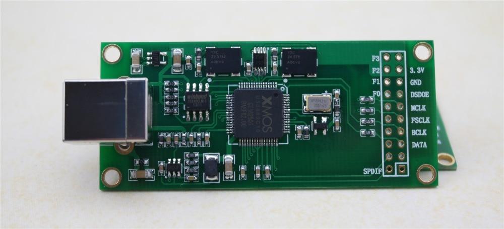 XU208 XMOS USB Digital Audio Interface U8 Upgraded Version Of Different Step Card Module
