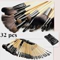 free shipping  naked brushes 32Pcs/set  Makeup Brushes maquiagem Cosmetic Make Up Brush Set makeup tool kit  with black Bag