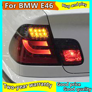 Car Taillights for BMW E46 rear Lights 2001-2004 led TailLight for E46 Rear Lamp DRL+Brake+Park+Signal lights