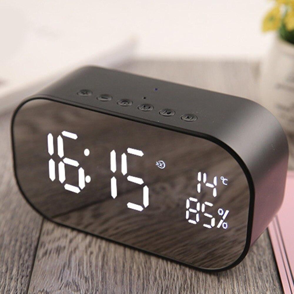 s2 bluetooth speaker usb wireless smart alarm the 3.5 mm aux jack tf card fm radio with microphone microphone loud speaker sound