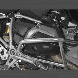 Image 5 - Für BMW R1200GS Zylinder Kopf Guards Protector Abdeckung für BMW R 1200 GS Abenteuer 2014 2015 2017 nach markt