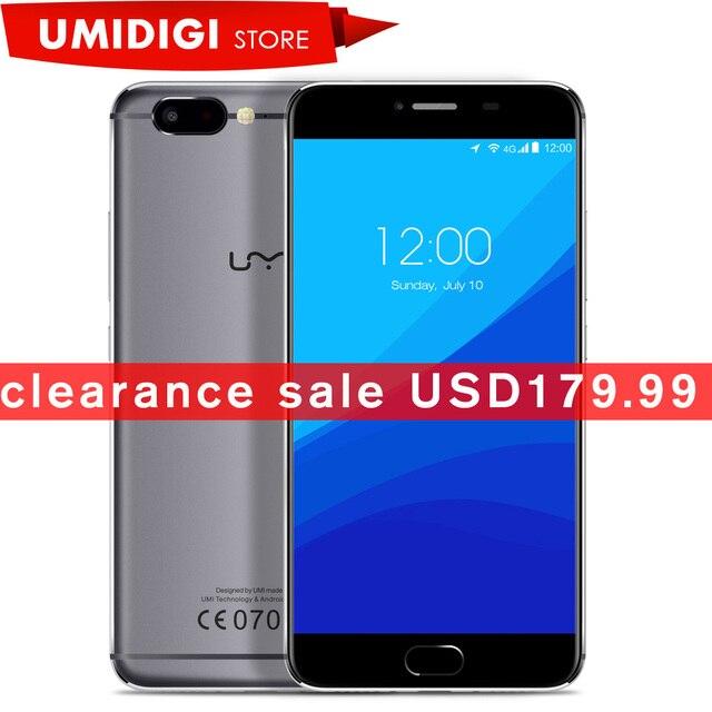 "Umi Z Helio x27 Deca core 2.6GHZ Full Metal Unibody Smartphone 5.5"" 13MP Front Camera Type c Port Mobile Phone"