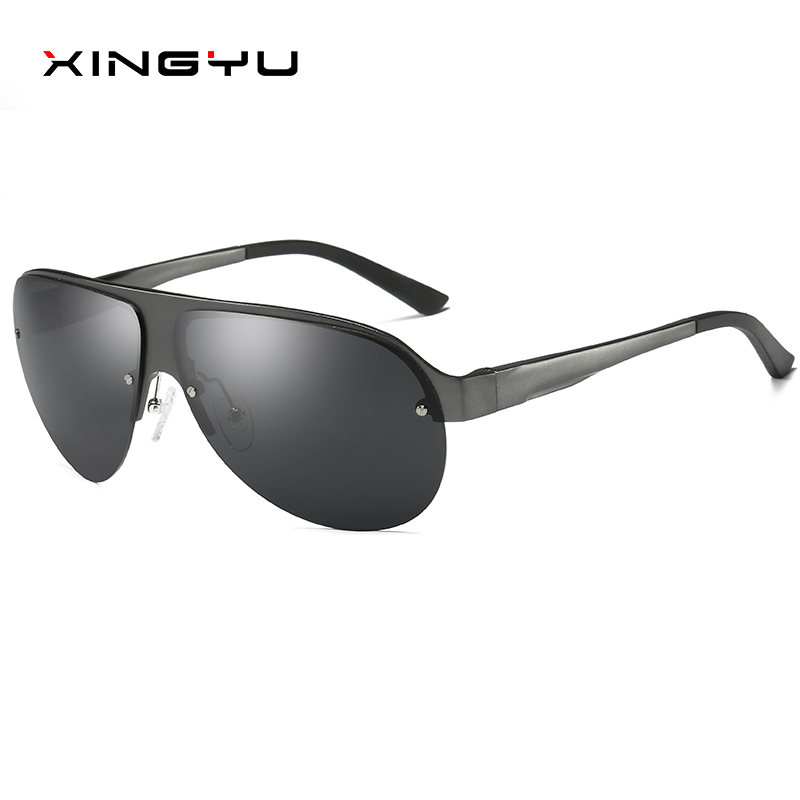87c437458def XINGYU New Polarized Sunglasses Men Coating Mirror Sun Glasses Original  Brand Male Over Sized Accessories For Men oculos XY061-in Sunglasses from  Apparel ...