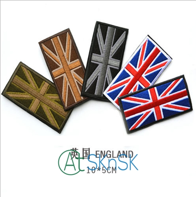 Clothing Badge DIY UK Flag Patches For Women & Men Clothes Sewing  Embroidered Cute Patch Motif