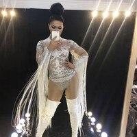 Новинки для женщин 3D печати кристаллы сексуальное боди Одежда для танцев вечерние производительность эластичный костюм танцевальный сцен