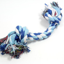 Double Knot Pet Dog Cotton Linen Rope Toy