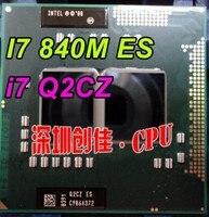 Intel laptop cpu i7 Q2CZ 1.87G 2.26G 4M don't show Core I7 840M es Upgrade I3 I5 suitable HM55/PM55 Free shipping i7 840M es