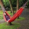 Promotion!!! Outdoor Camping Patio Garden Swing Chair Portable Folding Single Person Hammock Portable Ice Nylon Travel Kits