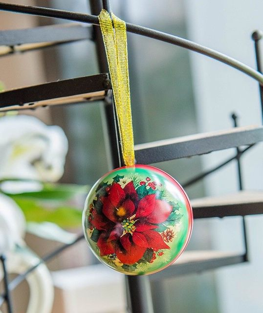 Christmas Tree Ball (candy jar) Ornament
