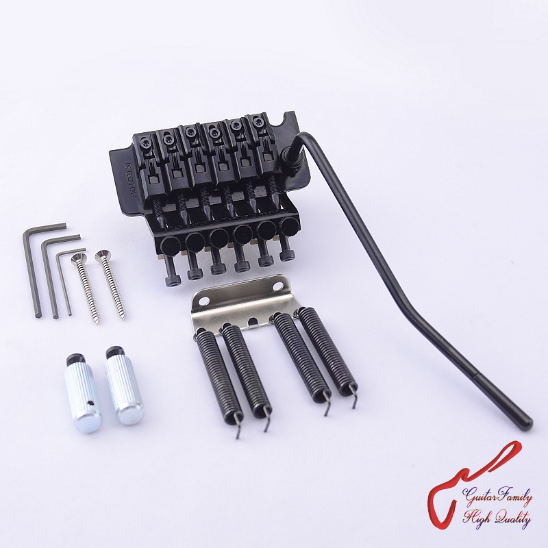 Original Genuine GOTOH GE1996T ( 36MM Block ) Locking Tremolo System Bridge  Without Locking Nut  ( Black ) MADE IN JAPAN genuine original floyd rose 5000 series electric guitar tremolo system bridge frt05000 black nickel cosmo without packaging