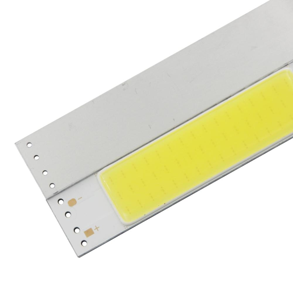 100 20mm 3W LED COB Strip module Light Source manufacturer Lamp 9V DC White Warm White Bar LED FLIP Chip Bulb for DIY lamp in LED Bulbs Tubes from Lights Lighting