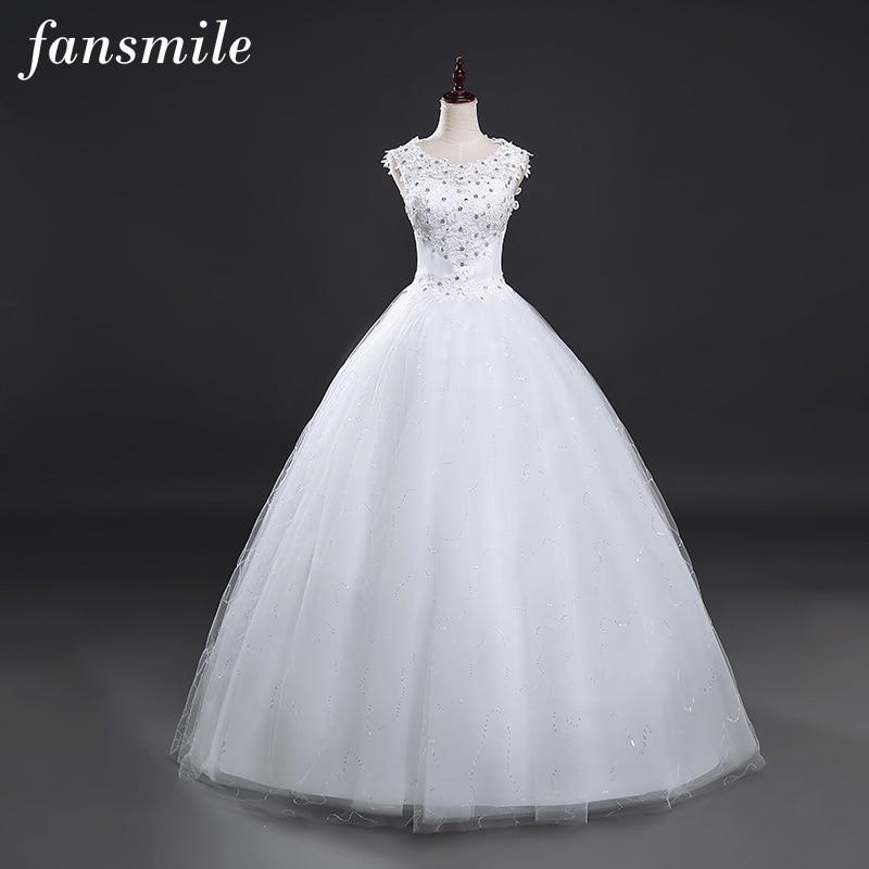 Fansmile vestidos de novias cheap wedding dresses 2017 for Cheap wedding dresses made in china