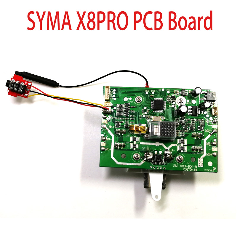 SYMA X8PRO GPS Drone Accessories Original Receiver PCB Circuit Main Board Rc Toys Spare Parts syma x8pro x8 pro 2 4g 4ch 6 axis with gps rc helicopter quadcopter drone spare parts pcb receiver board