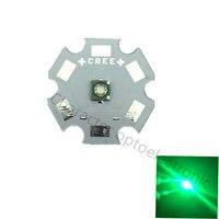10PCS LED CREE XPE R3 Chip 3W High Power Light XP E 520 525 Green LED