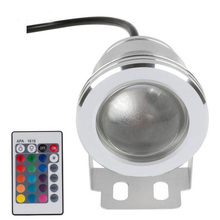 RGB LED Underwater Fountain Light 10W 1000LM DC12V Waterproof IP68 LED Swimming Pool Pond Fish Tank