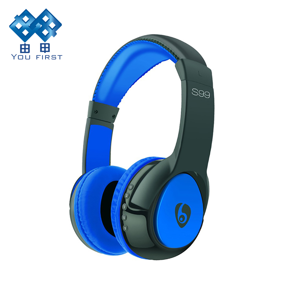 YOU FIRST Wireless Headband Stereo Headset S99 Noise Cancelling Headphone Gamer Bluetooth Headset With Mic For Computer Phone PC logitech h110 stereo headset headphone w mic noise cancelling