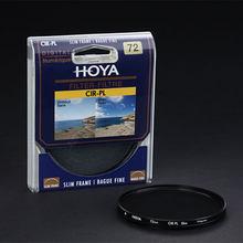 HOYA 46 мм 49 мм 52 мм 55 мм 58 мм 62 мм 67 мм 72 мм 77 мм 82 мм круговой Поляризатор CPL Фильтр Для Nikon Canon DSLR Объектива Камеры Свободный Корабль