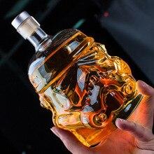 Шлем штурмовика из «Звездных Войн» виски баррель графин Кристалл Стекло бутылки вина Магия аэратор для вина стекло es бар аксессуар