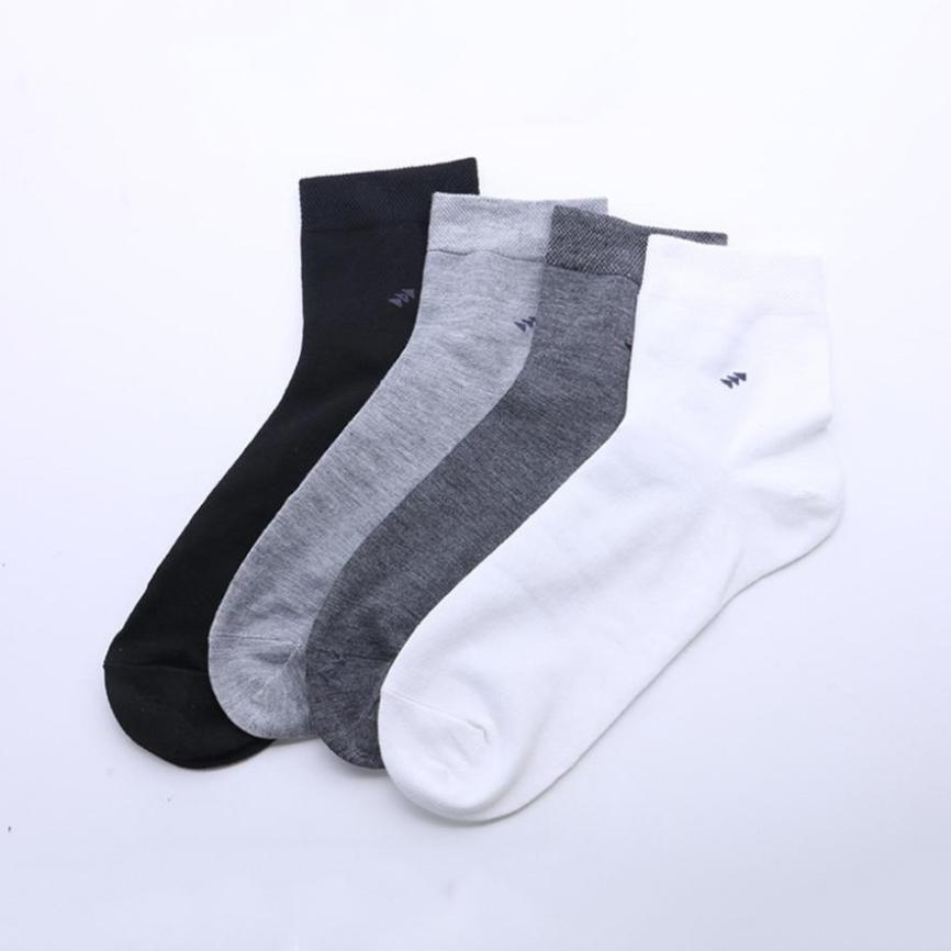 New High Quality 100% Cotton Men Winter Sock Soft Ankle-High Arcylic Warmer Socks Breathable Sweat-absorbent Deodorant Socks Sox