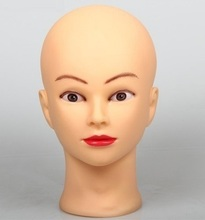 CAMMITEVER 52cm Professional Training Mannequin Head for Practice High Quality Maniquies Women