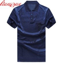 Men Polo Shirts Brand Summer Short Sleeve Casual Cotton Slim Fit Big Size L-4XL Business Solid Color Dress Polo Shirts F2418