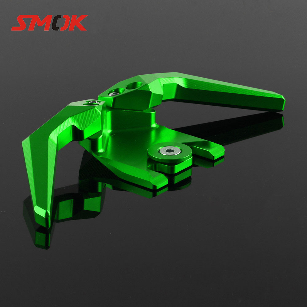 SMOK For Kawasaki ZX300R 2013-2018 Ninja 300 2017 Z300 2015-2018 Motorcycle CNC Rear Grab Bars Seat Pillion Passenger Handle motorcycle part front rider seat leather cover for kawasaki ninja300 zx 300r zx300r 2013