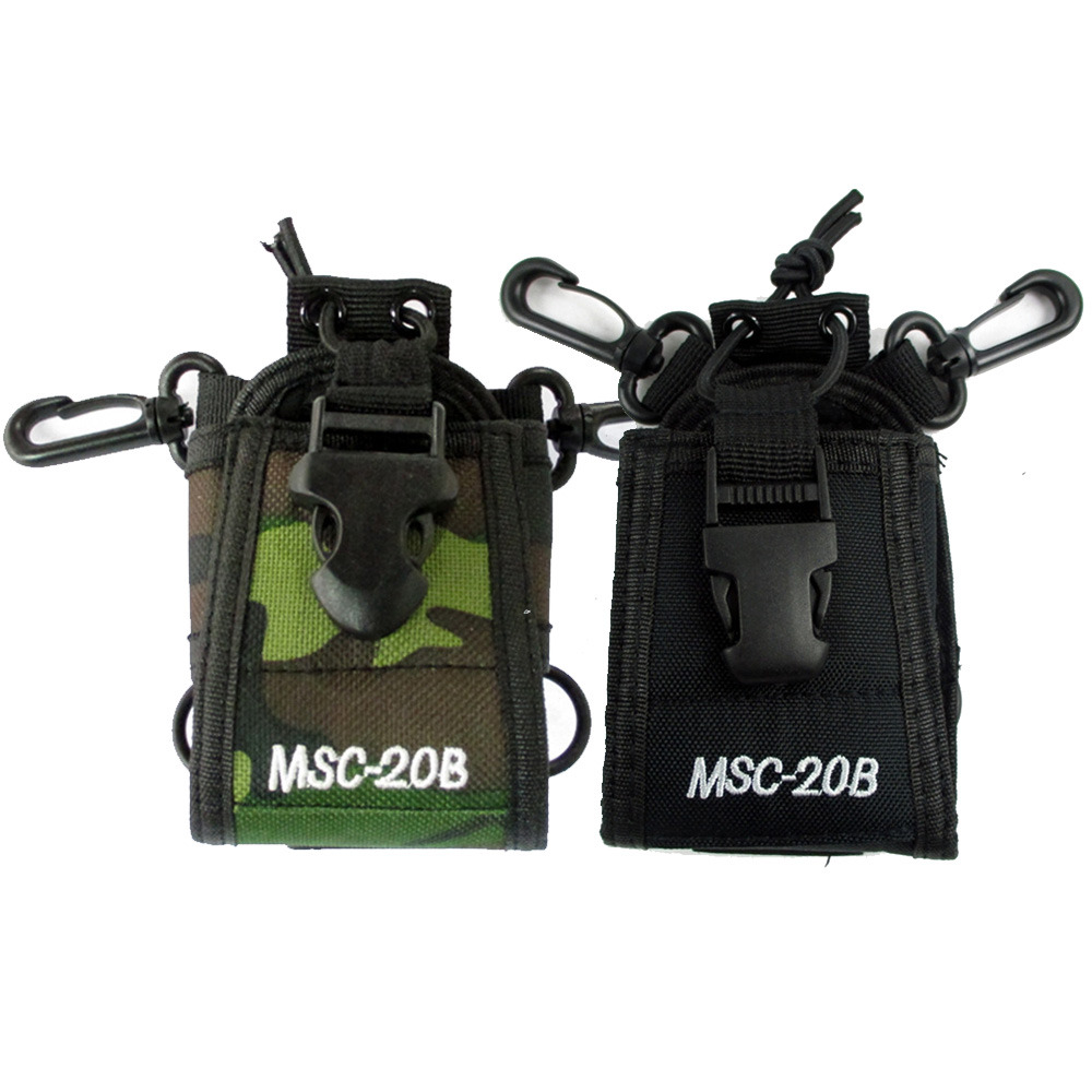 MSC-20B Case Holder Nylon Multi-functional Portable Radio Holster For BaoFeng UV-5R UV-82 BF-888S Walkie Talkie 65*45*125MM