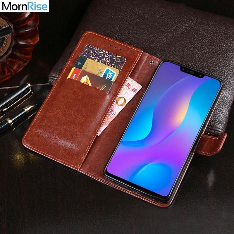 Luxury Vintage PU Leather Flip Cover For Huawei Y9 2019 Enjoy 9 Plus Case Wallet Kickstand Card Pocket Business Style Bag Fundas