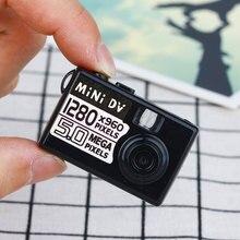 Маленький 5MP HD Micro Камера Mini DV Цифровая Камера видеокамеры Веб-камера видеорегистратор вождение Регистраторы 720 P 1280*960 Портативный веб-