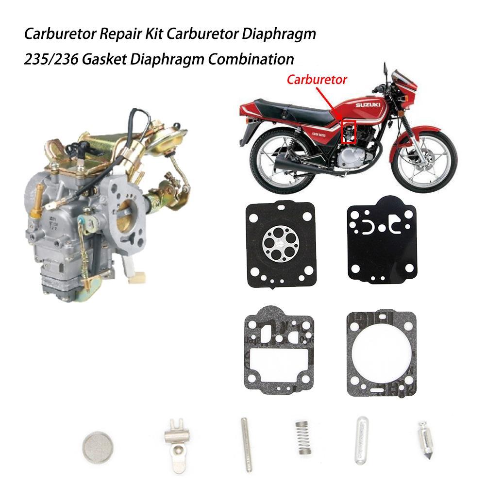Carburetor Repair Kit Carburetor Diaphragm 235/236 Gasket Diaphragm Combination CS2234 2238 Repair Kit CS2234/2238 ZAMA Carb Kit