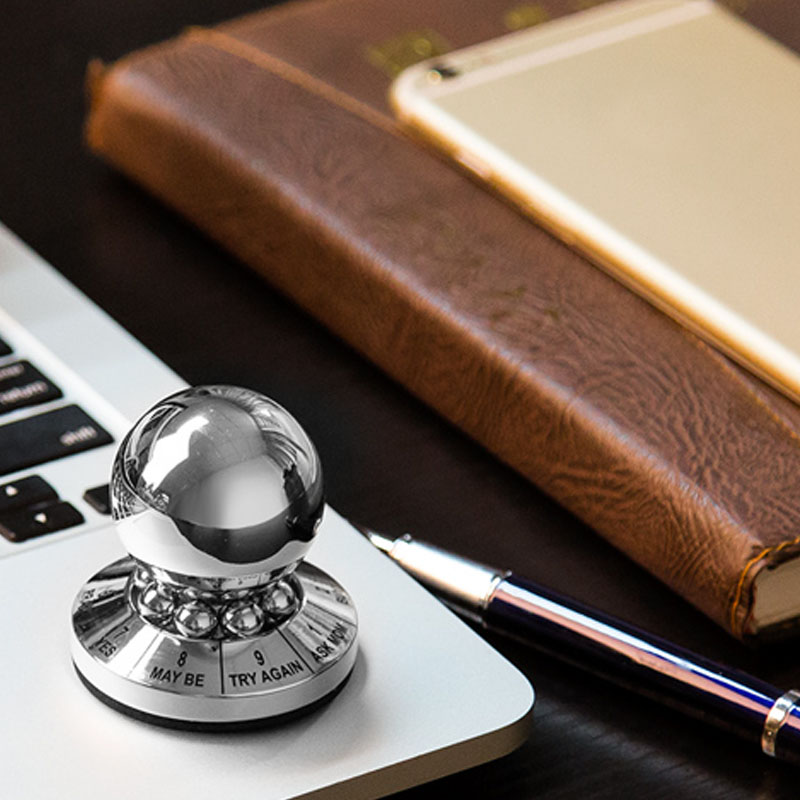 1 шт. креативный шар для принятия решений блестящие трюки мощность миниатюрный дисплей игрушка