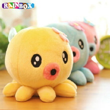 4Colors Choice 6CM Plush Key chain DOLL Plush Stuffed TOY DOLL Cartoon Animal Pendant TOY Wedding