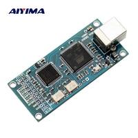 Aiyima ATSAM3U1C XC2C64A Amanero USB IIS Digital Interface DAC Decoder Board Support DSD512 32bit 384K I2S
