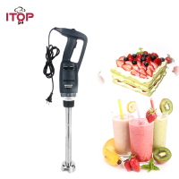 ITOP Immersion Blender Jucier with 20/25/30/40/50cm Tube Plastic Hand Held Food Mixing Machine UL/EU/UK PLUG