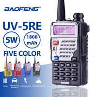 Baofeng UV 5RE Walkie Talkie Super Signal Dual Band Handheld Two Way Ham Radio Communicator UV 5R Plus CB HF Transceiver Amateur