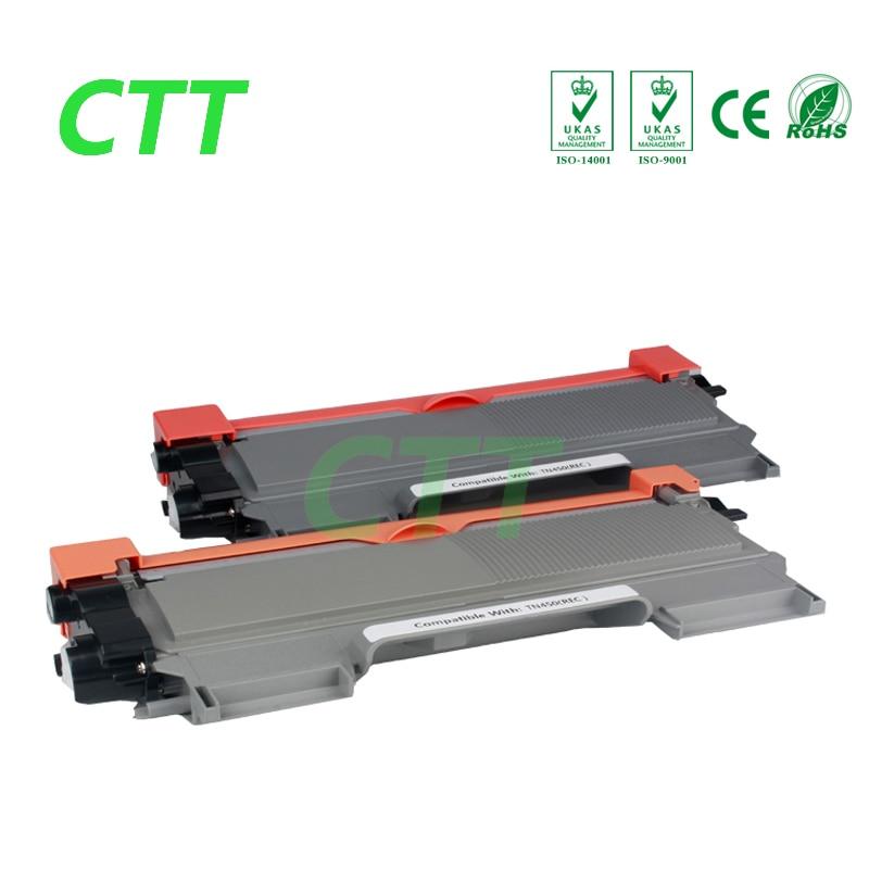 все цены на  2x CTT black TN450 black toner cartridge for Brother Toner Cartridge TN450 TN 450  for DCP-7055 7055 2130 2240 2250 2270 printer  онлайн