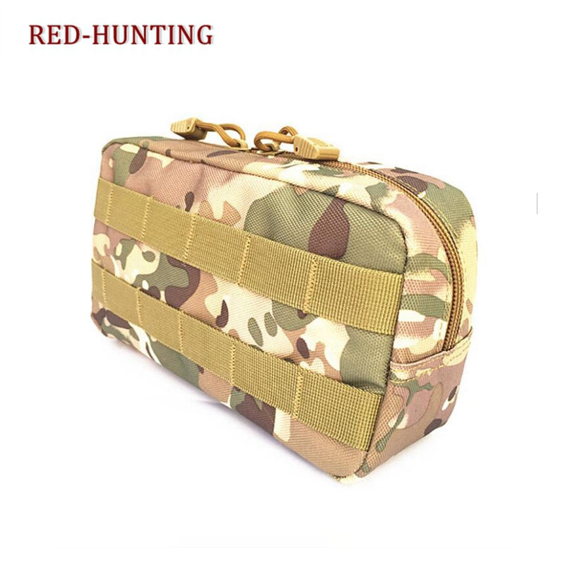 cda0dd42dab Multicam Molle Pouch Tactical Airsoft Vest Outdoor Traveling Gear Military  Tool Drop