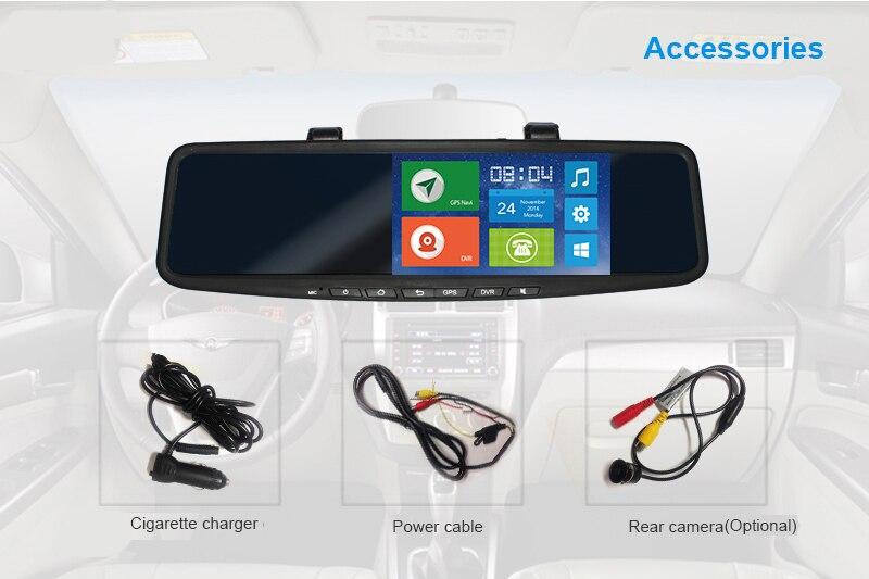 JC600 1080 P 3G WCDMA ile Android Ayna Kamera Dirseği Sürümü ile - Güvenlik ve Koruma - Fotoğraf 4