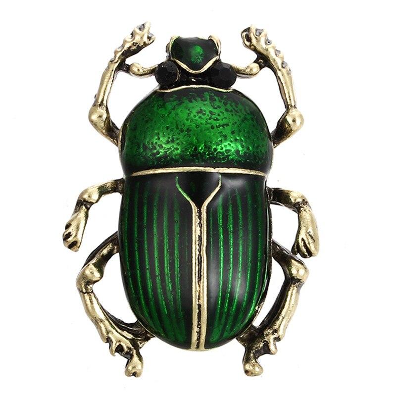 Пчела, жук, краб, муравьи, улитка, броши с птицами, Скорпион, стразы, Винтажные Украшения в виде животных, брошь - Окраска металла: 27