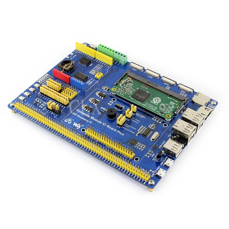 Compute Module IO Board Plus,Composite Breakout Board for Developing with Raspberry Pi CM3, CM3L Various component-in Demo Board Accessories from Computer & Office    1