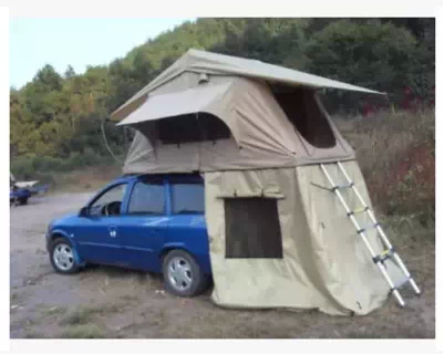 GM luxury SUV car built from the ground with tent after tent roof shed cheap & GM luxury SUV car built from the ground with tent after tent roof ...