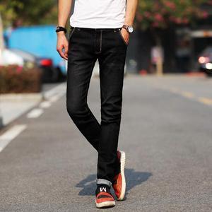 Image 5 - جديد موضة الرجال الجينز ضوء اللون جينز سترتش عادية مستقيم سليم صالح متعدد الألوان نحيل الجينز الرجال القطن سراويل جينز