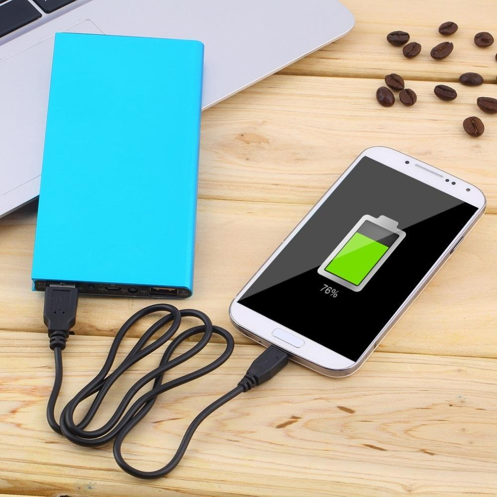 power bank 20000 mah Portable Power Bank 20000mAh External Battery DUAL Ports powerbank Charger Mobile Charger