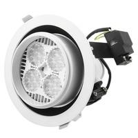 35W LED Light Spot Round Lamp White Recessed Ceiling Down spotlight Bulbs Warm White