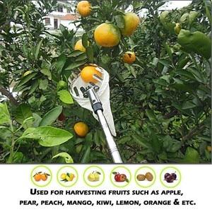 Image 4 - Outdoor Useful Fruit Picker Apple Orange Peach Pear Practical Garden Picking Tool Bag Picking device Sammelnvorrichtung