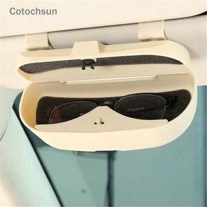 Cotochsun автомобильный Стайлинг солнцезащитный козырек Чехол для очков HAVAL all Model H3 H5 H6 H7 H8 H9 H8 M4 SC C30 C50