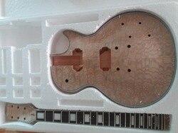Diy عدة فريد الجسم روزوود الأصابع الغيتار الكهربائي الرقبة ل lp أسلوب